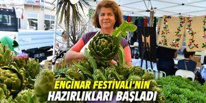 Enginar Festivali'nin hazırlıkları başladı