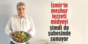 İzmir'in meşhur lezzeti midyeyi şimdi de şubesinde sunuyor