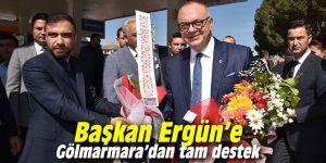 Başkan Ergün'e tam destek