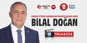 Bilal Doğan, Medya Ege TV'nin konuğu