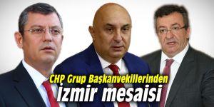 CHP Grup Başkanvekillerinden İzmir mesaisi