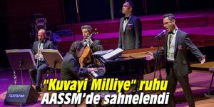 """Kuvayi Milliye"" ruhu AASSM'de sahnelendi"