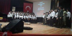Bucalı öğrencilerden Çanakkale Oratoryosu