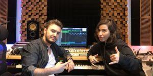 Burcu Güneş, Mustafa Ceceli'yle stüdyoda buluştu