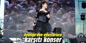 Aydilge'den uyuşturucu karşıtı konser