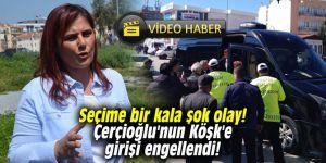 Seçime bir kala şok olay! Çerçioğlu'nun Köşk'e girişi engellendi!