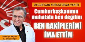 Torbalı Belediye Başkanı İsmail Uygur'dan açıklama