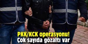 PKK/KCK operasyonu! Çok sayıda gözaltı var