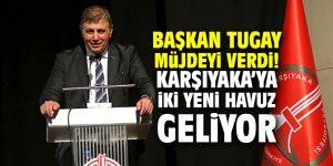 Başkan Tugay müjdeyi verdi; Karşıyaka'ya iki yeni havuz geliyor