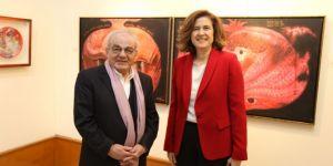 Muzaffer Akyol, İzmirli sanatseverlerle buluştu
