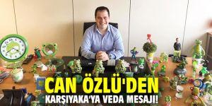 Can Özlü'den Karşıyaka'ya veda mesajı!