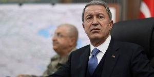 """Milli Savunma Bakanı Akar: """"Terör örgütü PKK eşittir YPG"""""""