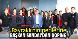Başkan Sandal'dan Bayraklı'nın perilerine doping!