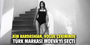 Kim Kardashian, Vogue Çekiminde Türk Markası Moeva'yi Seçti