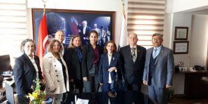 TEMAD'dan Foça İlçe Emniyet Müdürüne kutlama ziyareti