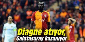 Diagne atıyor, Galatasaray kazanıyor
