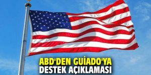 ABD'den Guiado'ya destek açıklaması
