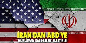 İran'dan ABD'ye 'Müslüman Kardeşler' eleştirisi
