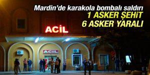 Derik'te Jandarma Karakoluna Bombalı Saldırı! Şehit Var