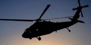 Venezuela'da askeri helikopter düştü!