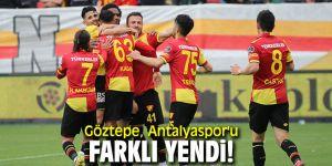 Göztepe, Antalyaspor'u farklı yendi!