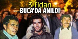 Buca'da '3 Fidan' unutulmadı