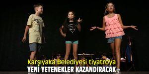 Karşıyaka Belediyesi tiyatroya yeni yetenekler kazandıracak'