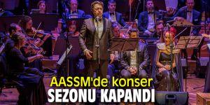 AASSM'de konser sezonu kapandı