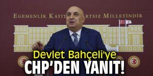 Devlet Bahçeli'ye CHP'den yanıt
