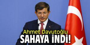 Ahmet Davutoğlu sahaya indi!