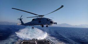 Deniz Kurdu 2019 Tatbikatı'nın Akdeniz etabı başladı