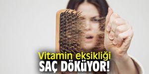 Vitamin eksikliği saç döküyor!