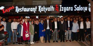 AK Partili Kırkpınar, gençlerle iftar yaptı