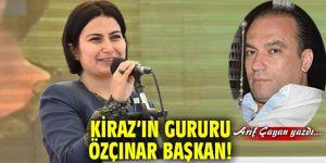 Kiraz'ın Gururu Özçınar Başkan!