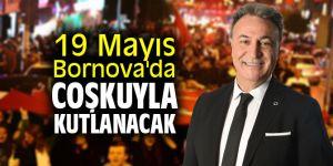 19 Mayıs Bornova'da coşkuyla kutlanacak