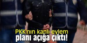 PKK'nın kanlı eylem planı açığa çıktı!