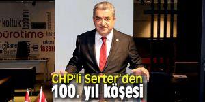CHP'li Serter, 19 Mayıs Atatürk'ü Anma, Gençlik ve Spor Bayramı'nı kutladı