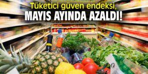 Tüketici güven endeksi, Mayıs ayında azaldı!