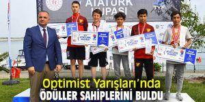 Optimist Yarışları'nda ödüller sahiplerini buldu