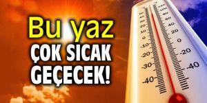 Bu yaz çok sıcak geçecek!