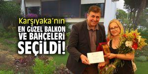 Karşıyaka'nın en güzel balkon ve bahçeleri seçildi