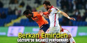 Berkan Emir'den Göztepe'de başarılı performans
