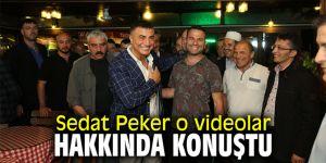 Sedat Peker o videolar hakkında konuştu