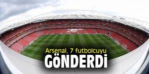 Arsenal, 7 futbolcuyu gönderdi