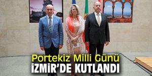 İzmir'de Portekiz Milli Günü için resepsiyon düzenlendi