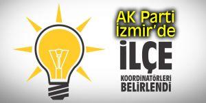 AK Parti İzmir'de ilçe koordinatörleri belirlendi