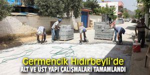 Germencik Hıdırbeyli'de alt ve üst yapı çalışmaları tamamlandı