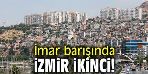 İmar barışında İzmir ikinci!