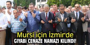 Mursi için İzmir'de gıyabi cenaze namazı kılındı!