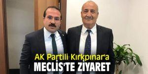 AK Partili Kırkpınar'a Meclis'te ziyaret